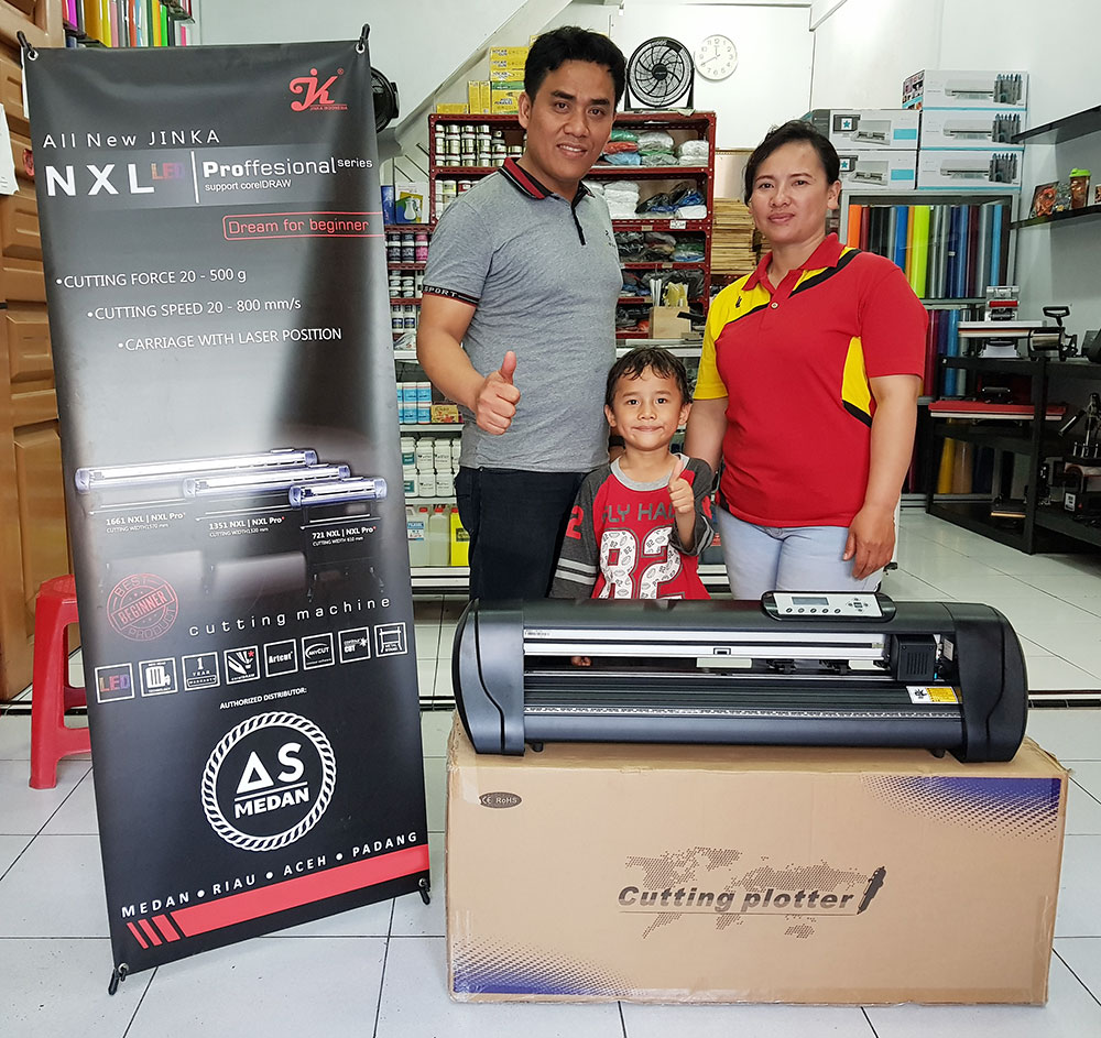 Mesin Cutting Jinka NXL PRO 721 LED | As Medan | Alat Sablon Medan