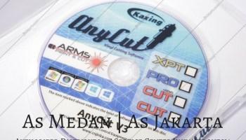 Software Flexi SAI Contour Cut Mesin Cutting Sticker Jinka