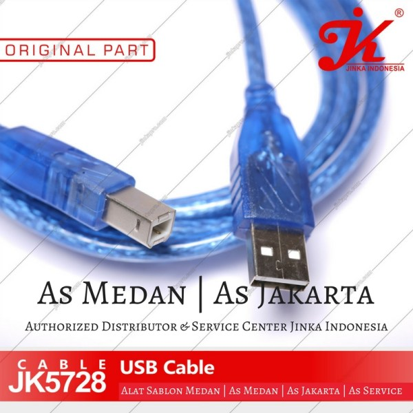 Kabel USB mesin cutting sticker jinka