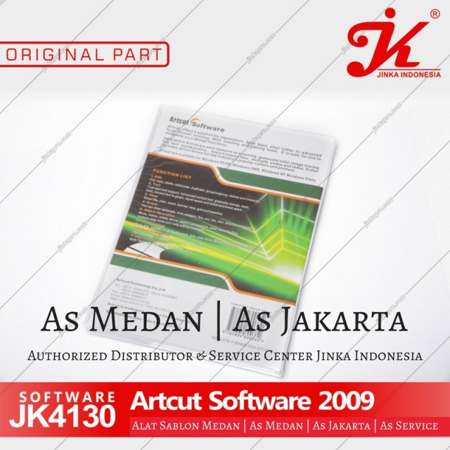 artcut software mesin cutting jinka