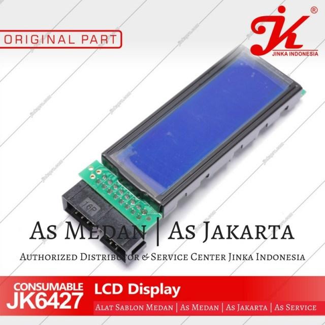 LCD Display mesin cutting sticker jinka