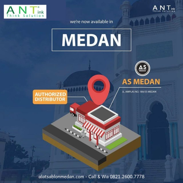As Medan Authorized Distributor Tinta Sablon ANT
