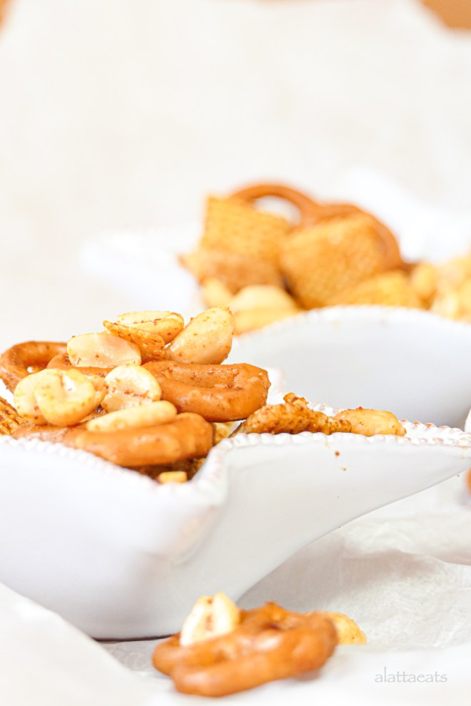 Homemade gluten-free and dairy-free snack mix