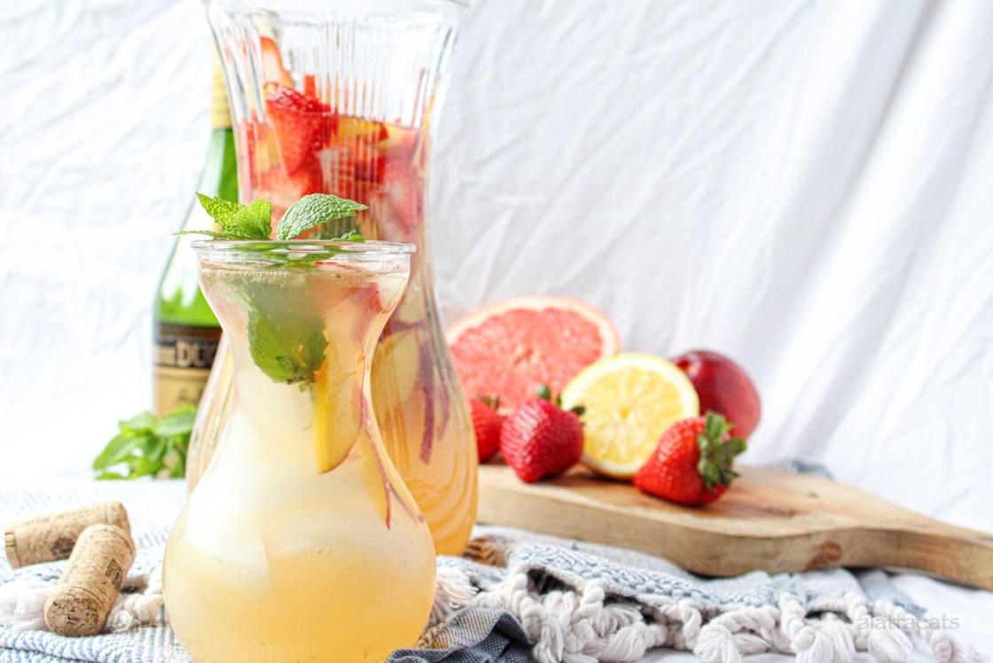 Grapefruit White Sangria Featured Image