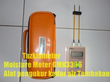 gmk3306 alat ukur kadar air tembakau