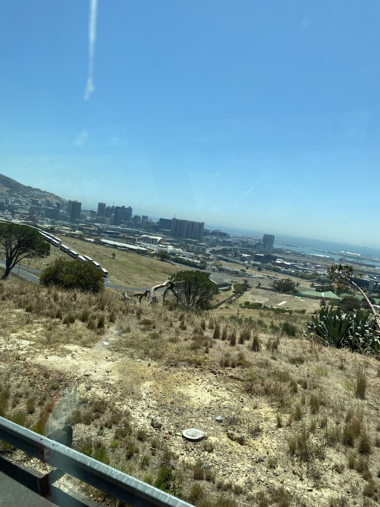 Picture of Cape Town from CitySightseeing Bus