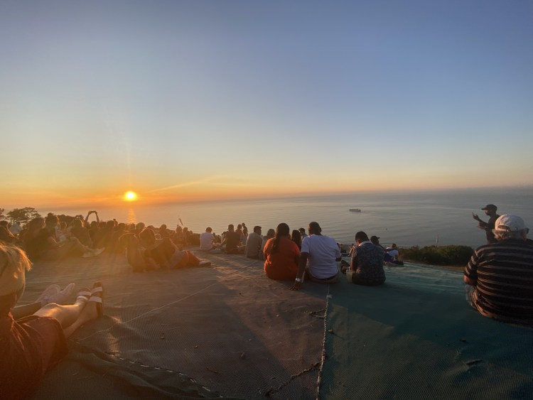 Sunset from Signal Hill