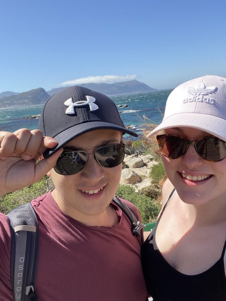 Selfie a the top of Cape of Good Hope