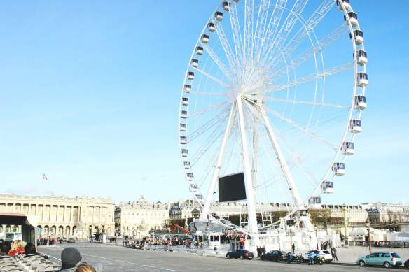 Frankreich-Paris-Riesenrad