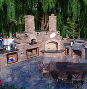 What Are Some Outdoor Kitchen Ideas A Lawns Stone