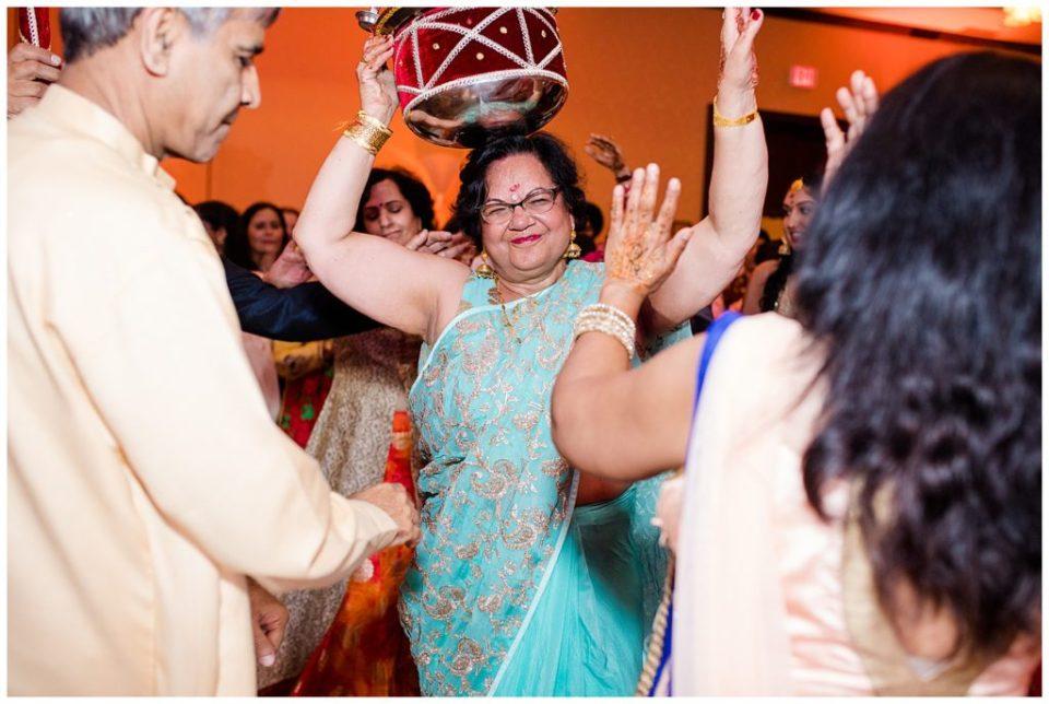 indian wedding celebration at bertram inn