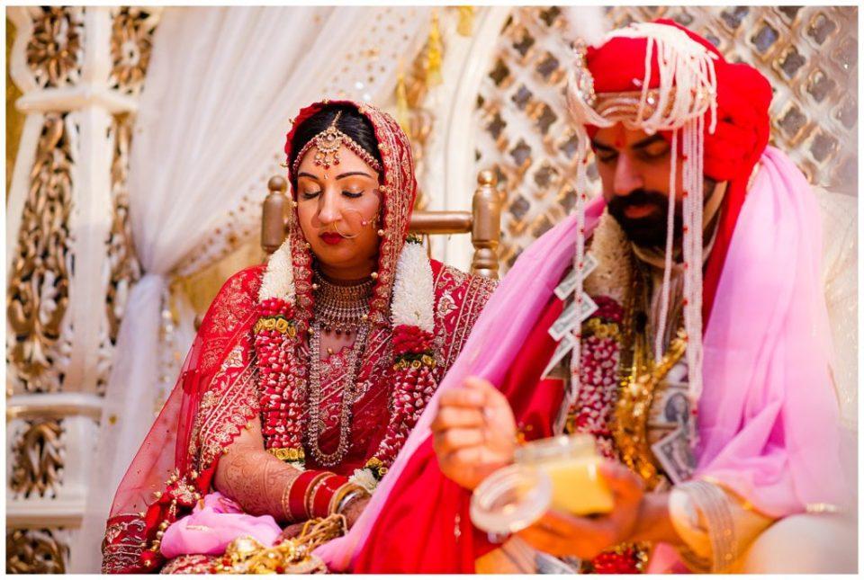 traditional hindu wedding ceremony at bertram inn