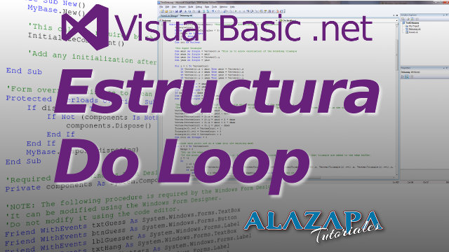 Estructura repetitiva Do Loop en Visual Basic .net
