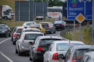 trafic rutier masini A1