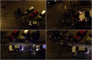 accident centru noaptea
