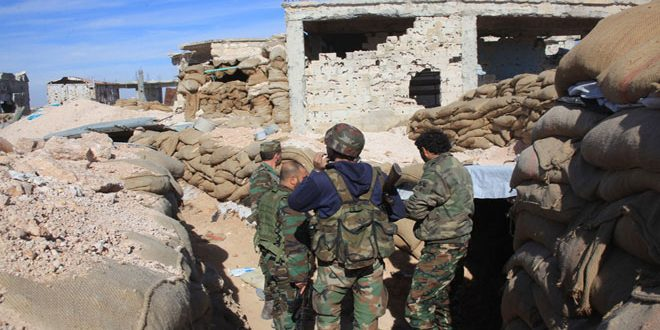 SYRIAN ARMY CONTROLS ALL 1070 APARTMENT PROJECT IN SOUTHWEST ALEPPO AFTER SEIZING RAKHM HILL;  CANTHAMA REPORTS ALL TERRORIST DEFENSE LINES COLLAPSE IN WEST ALEPPO! 1
