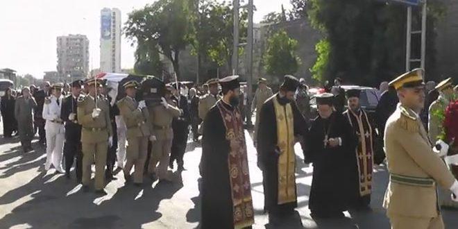 SYRPER MOURNS DEATH OF SYRIAN CHRISTIAN HERO, LT. GEN. YOUSSEF SHAKKOOR 1
