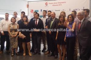 AJE galardona a los jóvenes emprendedores de Albacete en su décimo cuarta Edición de Premios