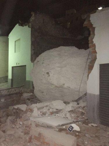 El Consejo de Gobierno aprueba, dos años después, la subveción para retirar la roca desprendida en Alcalá del Júcar