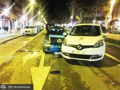 policia coche sabado2