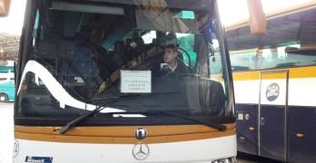 """La """"catástrofe"""" de perder el autobús que dejaría """"incomunicados"""" a muchos pueblos de la región"""