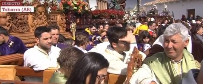 """El sacerdote de Tobarra vincula la """"ideología de género"""" con la Inquisición en su sermón de Viernes Santo"""