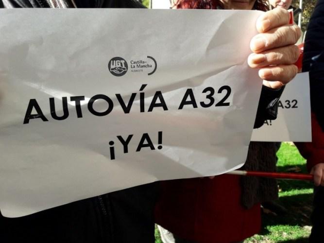 Los Presupuestos Generales del Estado aparcan la A-32 en la provincia de Albacete