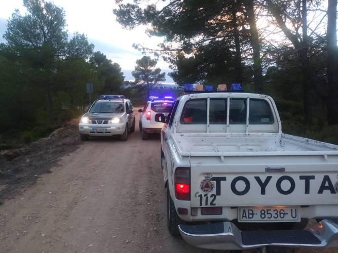 Localizan en Almansa a dos mujeres que se habían perdido en la sierra buscando setas