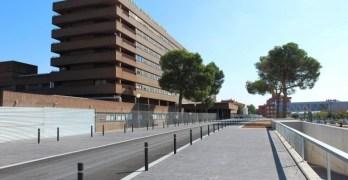 En estado muy grave un trabajador de Albacete tras quedar atrapado por un portón