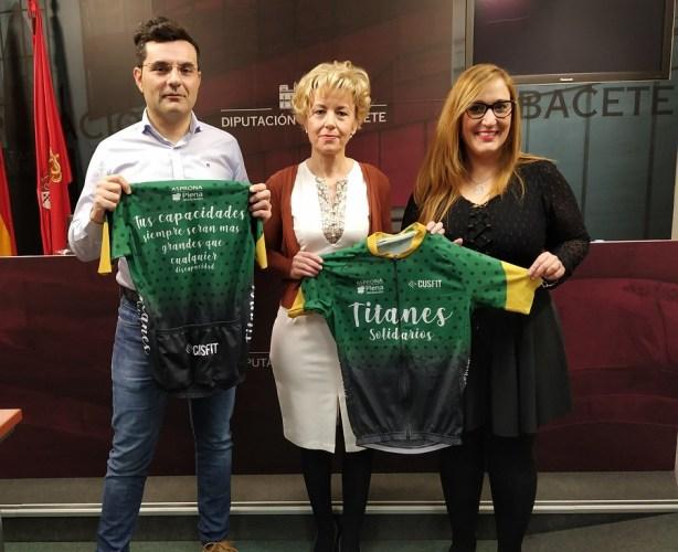 'Titanes Solidarios', nuevo equipo deportivo de Asprona, del que se puede adquirir la equipación con fines benéficos