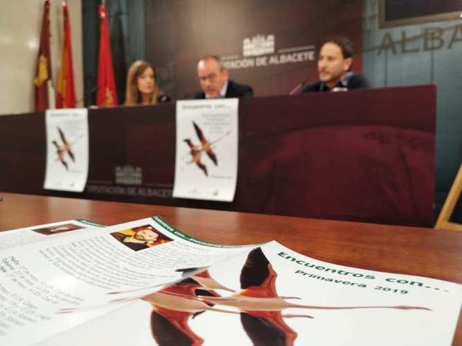 'Encuentros con…' acercará las obras de cinco escritores a 42 municipios de la provincia de Albacete