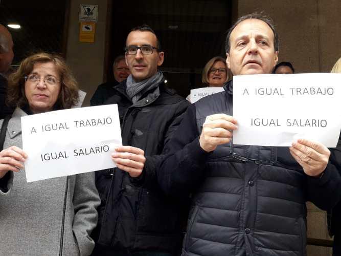 """Funcionarios de Justicia exigen un aumento de retribuciones para acabar con la """"brecha salarial"""""""