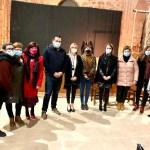 La delegada provincial de Igualdad asiste a la representación teatral de 'En la Furia' en Alcaraz