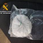 La Guardia Civil de Albacete detiene a dos personas con 100 gramos de cocaína