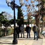 La Junta destaca el avance que supone para La Herrera su proyecto de alumbrado exterior dentro de las diferentes inversiones ITI