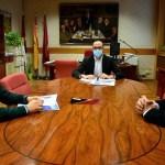 Representantes de las Asociaciones 'ARTE' y 'ACOPLE' trasladan a la Diputación de Albacete la situación del sector del espectáculo