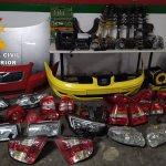 Cuatro detenidos por robar piezas de un desguace de Villarrobledo y luego venderlas por internet