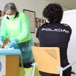 Comienzan a vacunar a Fuerzas y Cuerpos de Seguridad del Estado en Albacete