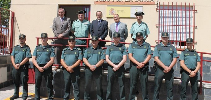 Visita cuartel de la Guardia Civil de La Roda 300715 018