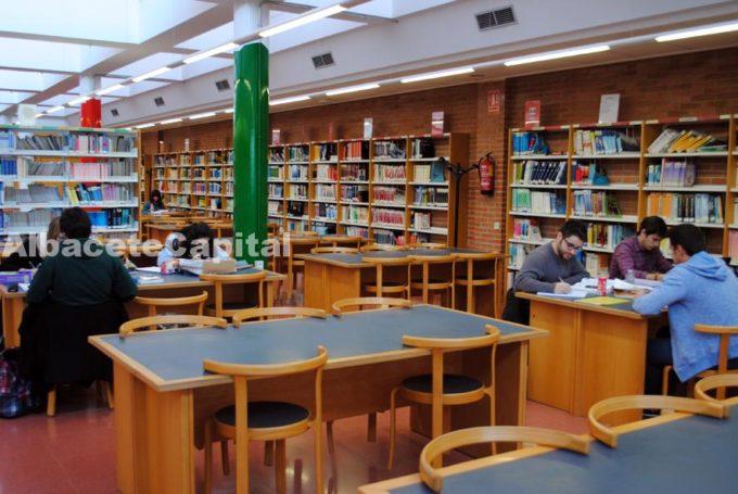 biblioteca estudiantes