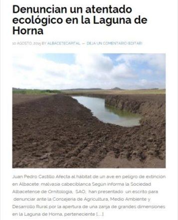 captura titular Laguna Horna