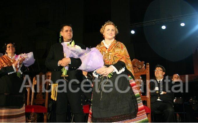 Dolores Gómez del Valle y Alberto de La Torre Tárraga, Manchegos de La Feria 2015.