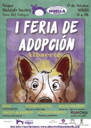 cartel I Feria de Adopción