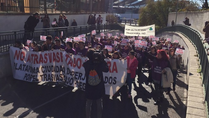 manifestacion trasvase