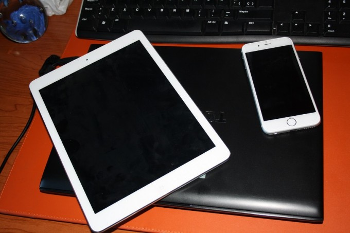 tablets y dispositivos moviles