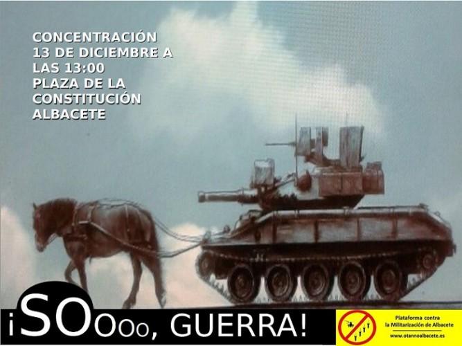 cartel parad la guerra