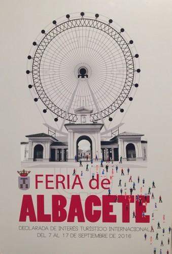 CARTEL DE LA FERIA DE ALBACETE 2016