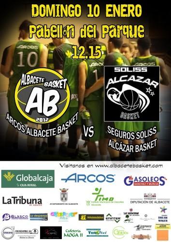 Cartel AB basket 10 enero