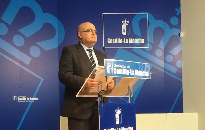 RUEDA DE PRENSA DE RUIZ SANTOS, DELEGACION JCCM ALBACETE