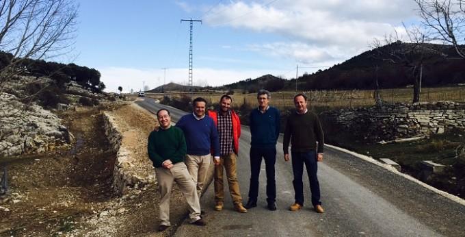 Visita JCCM Albacete- Caminos Nerpio